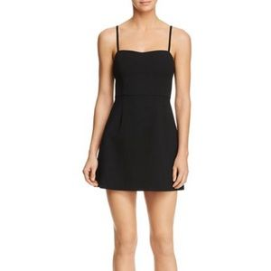 FRENCH CONNECTION Whisper Tie-Back Mini Dress